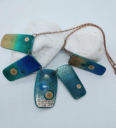 Sand & Sea Pendant Necklace