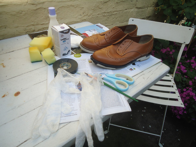From Brogue to wingtip..A Tutorial