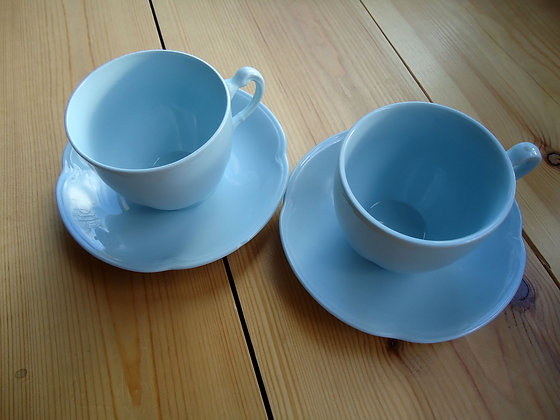 Johnson's Dawn Teacups and Saucers