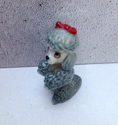 Vintage Wade poodle dog miniature