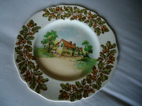 Vintage Royal Doulton Old English Inns plate