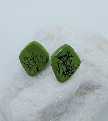 Spring Trees Ear Studs