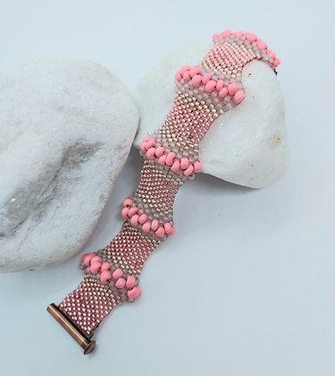 Pink Wave Bracelet