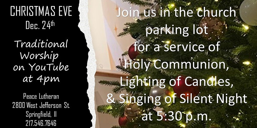 Holy Communion, Lighting of Candles and Singing of Silent Night