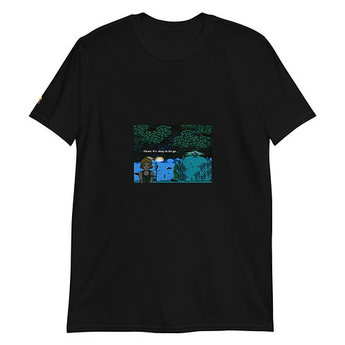 Heart, it's okay to let go. [8bitfiction Short-Sleeve Unisex T-Shirt]