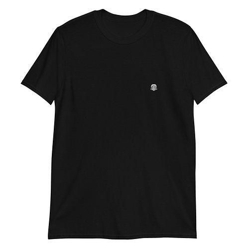 8bitfiction Embroidered Short-Sleeve Unisex T-Shirt