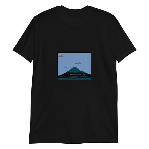 It feels like I'm heading home. [8bitfiction Short-Sleeve Unisex T-Shirt]
