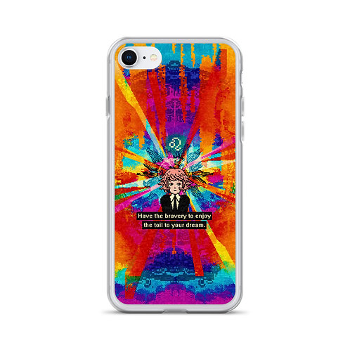 LEO. Have the bravery to enjoy the toil to your dream. [iPhone Case]