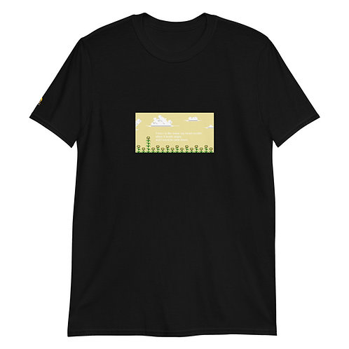 Yours is the name my heart recalls. [8bitfiction Short-Sleeve Unisex T-Shirt]