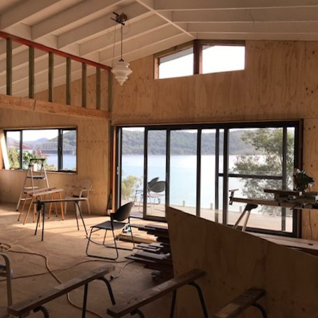 New Two Storey House on Remote Island with Slope Risk