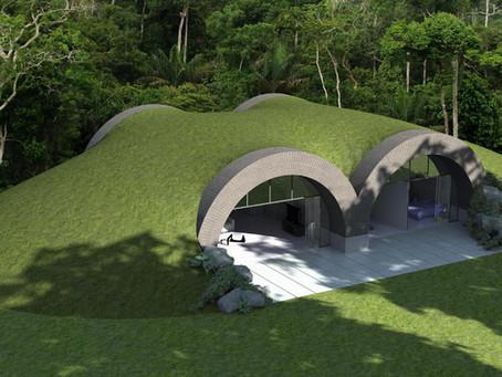 New Single Storey Earth Sheltered House