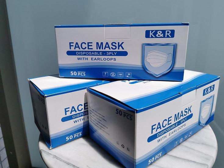 医療用サージカルマスク(BFE95規格合格品)