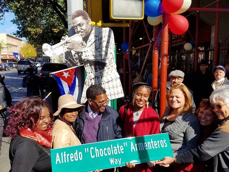 Street Re-Naming for Chocolate Armenteros, the Louie Armstrong of the Afro-Cuban trumpet
