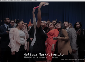 Melissa was determined to promote the neighborhoods within the district, persevere on critical needs, and bring government processes to the people. She believed that they deserved that as a standard from the leaders they elected.