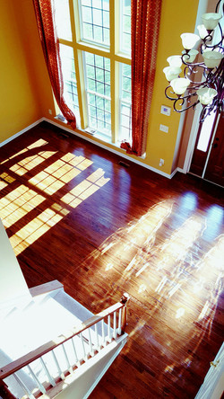 Refinishing floors