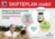 Gjødselplan, Plantevernjournal, Dokumentasjon, Skifteplan, Skifteplan Mobil, Webløsning