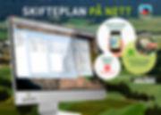Gjødselplan, Plantevernjournal, Dokumentasjon, Skifteplan, Webløsning