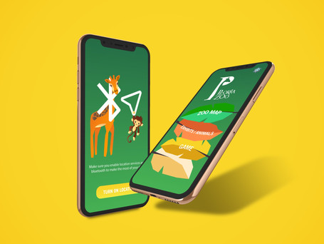 Peoria Zoo Wayfinding App