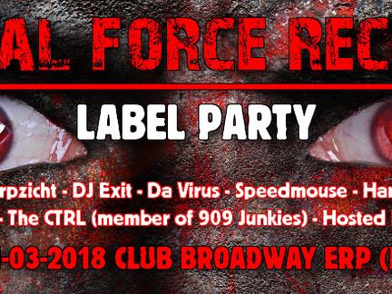 Brutal Force Label Party