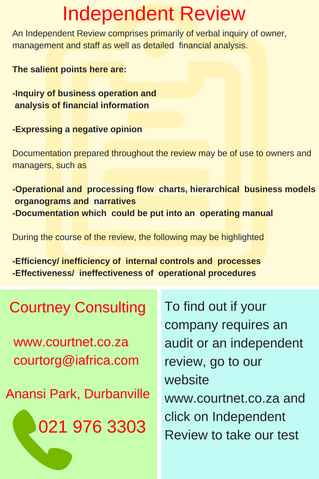 Independent Review vs Audit..which one is right for My Company?