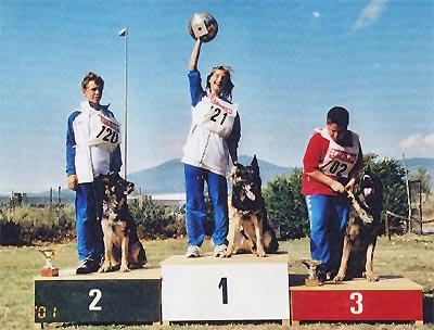 2° campionato addestamento giovani