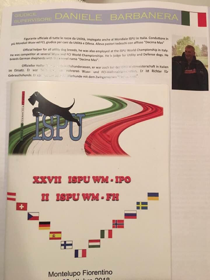 mondiale ISPU ottobre 2018 - catalogo pr