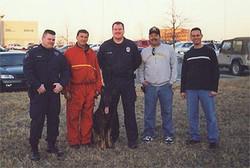 Daniele con Polizia del Kansas, USA