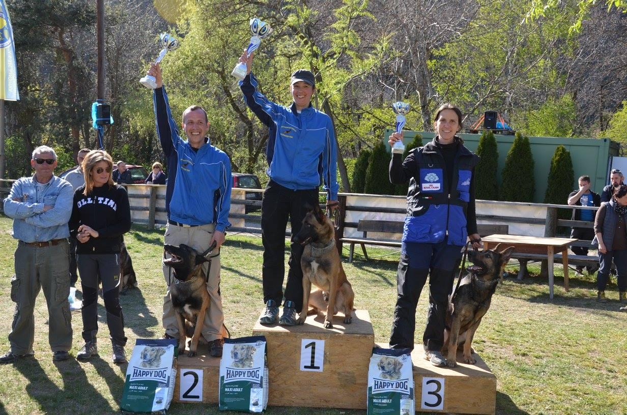 Podio IPO3 Trofeo Lago di Varna 2015
