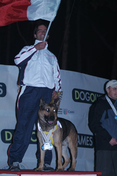 Dog Olimpiadi 2010 Podio