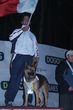 Dog Olimpiadi 2010 Podio