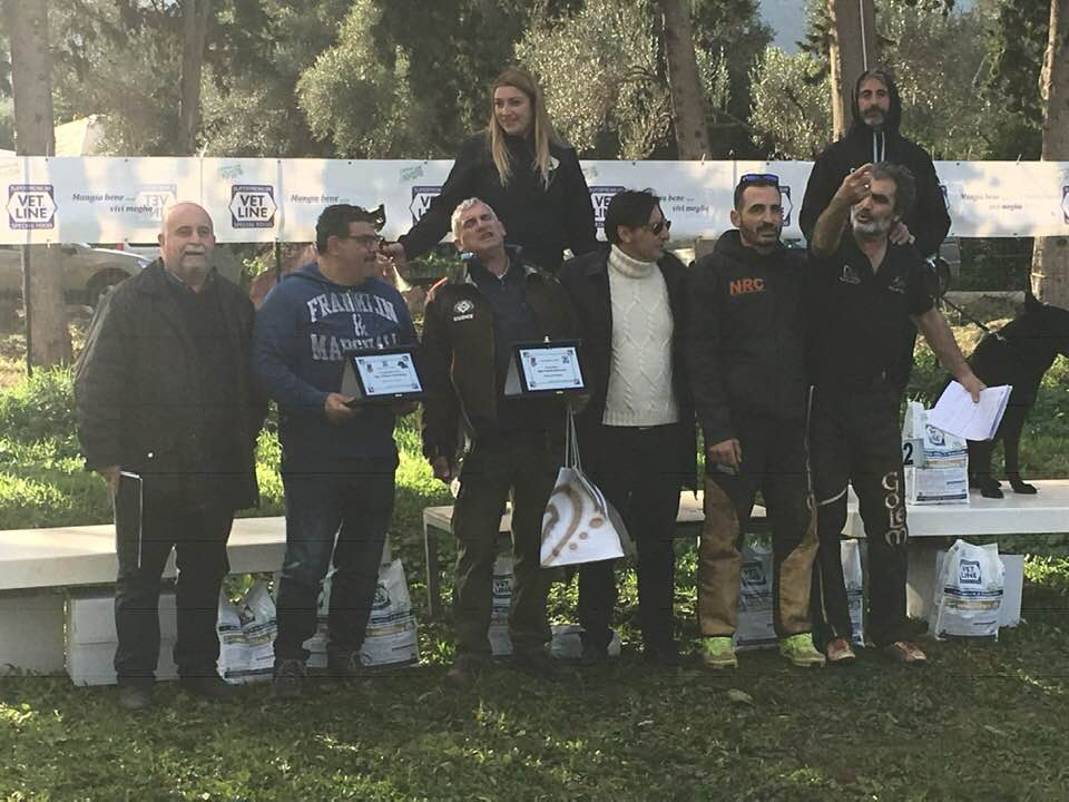 Premiazione Prova Sas. Palermo