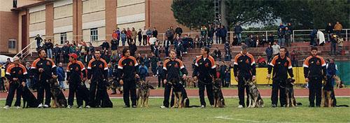 Squadra Nati e Allevati 2001