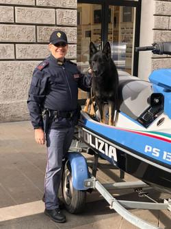 Pastore Tedesco Fornito Allevamento Della Decima Mas alla Polizia Di Stato