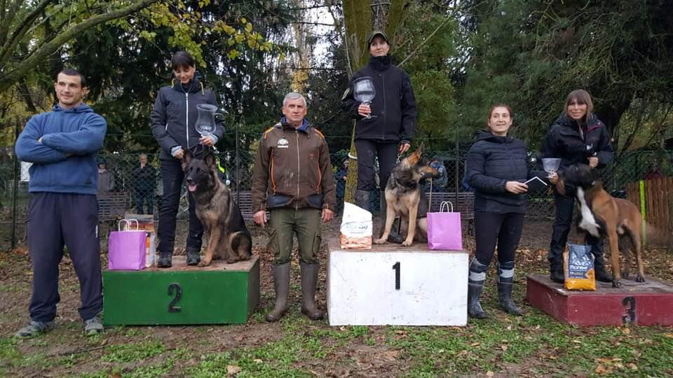 Prova Sci 23 24 Novembre 2018 podio IPO
