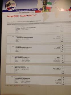 Catalogo mondiale WUSV Bratislava SK 2 cani decima mas