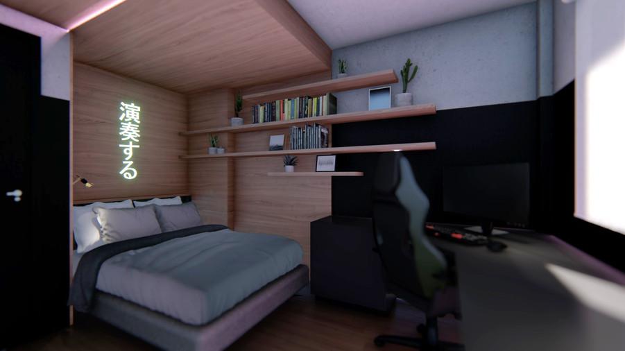 Espaço cama