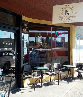 Soak up the atmosphere at Nic's Cafe