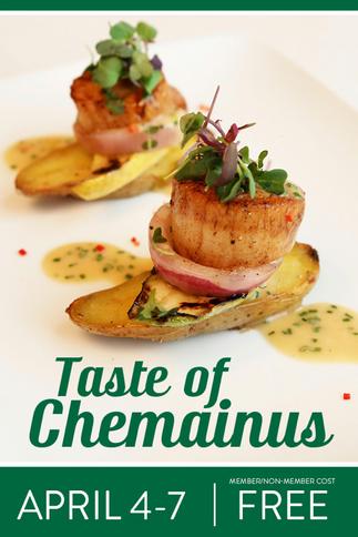 Taste of Chemainus returns this Spring