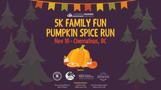 5k Family Fun Pumpkin Spice Run