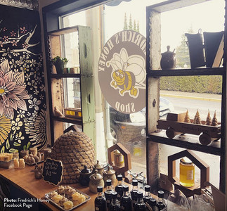 Bee-keeping business opens storefront in Chemainus
