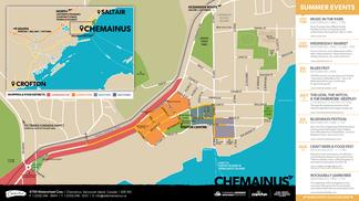 Chemainus Walking Map