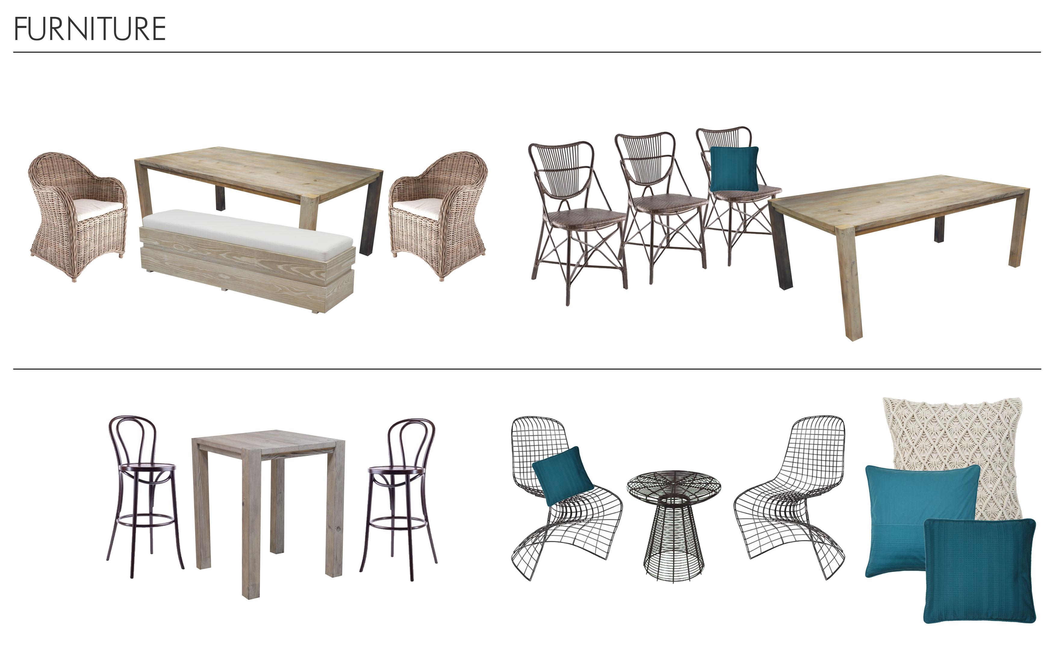 Furniture Moodboard