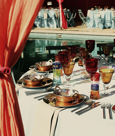 Table Setting - Bright Colours