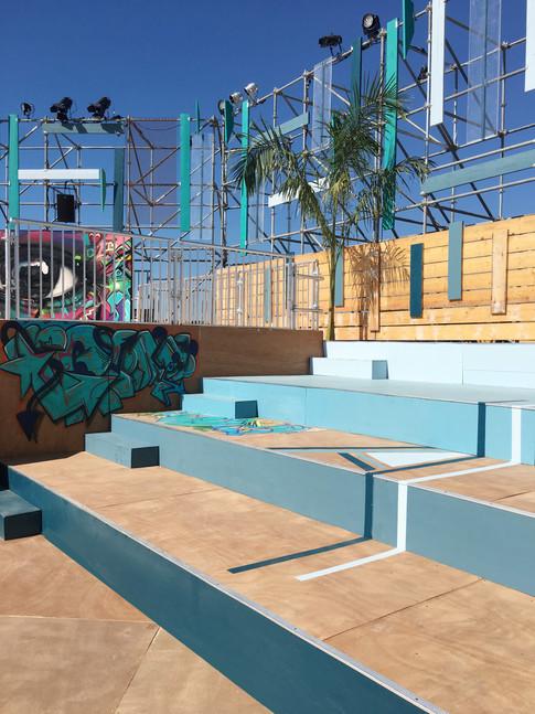 Amphitheatre Skatepark Design