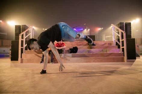 dancer at MOTN Festival