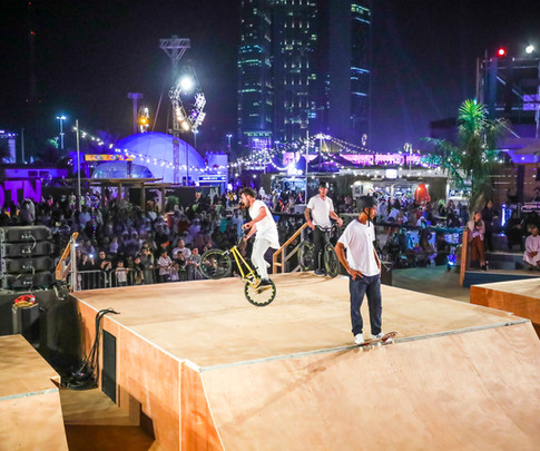Extreme Acts at outdoor event