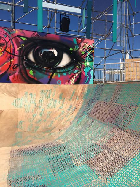 Half Pipe and Graffiti