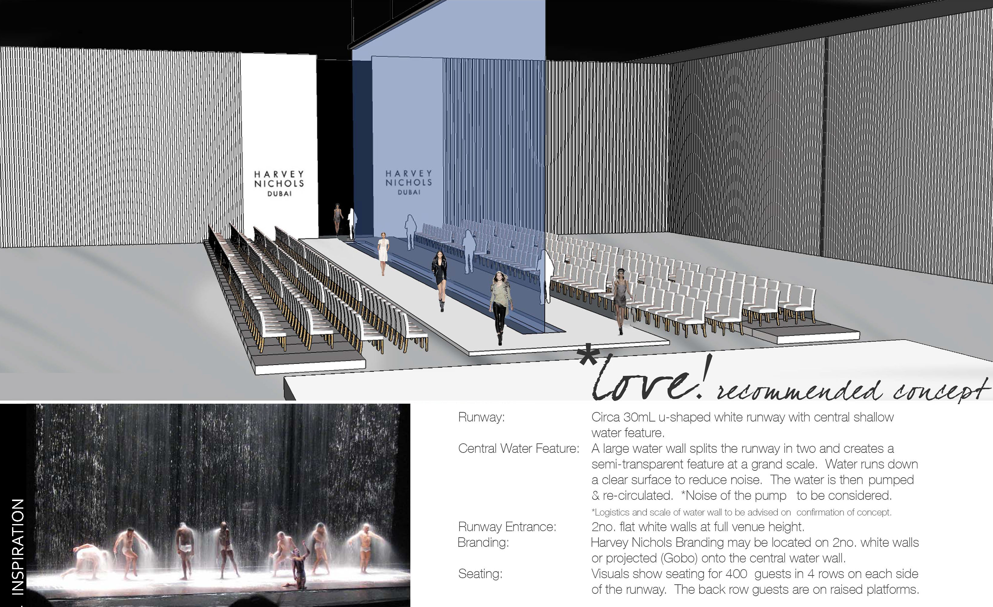 Runway Design - Water Wall