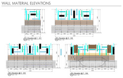 Wall Material Elevations
