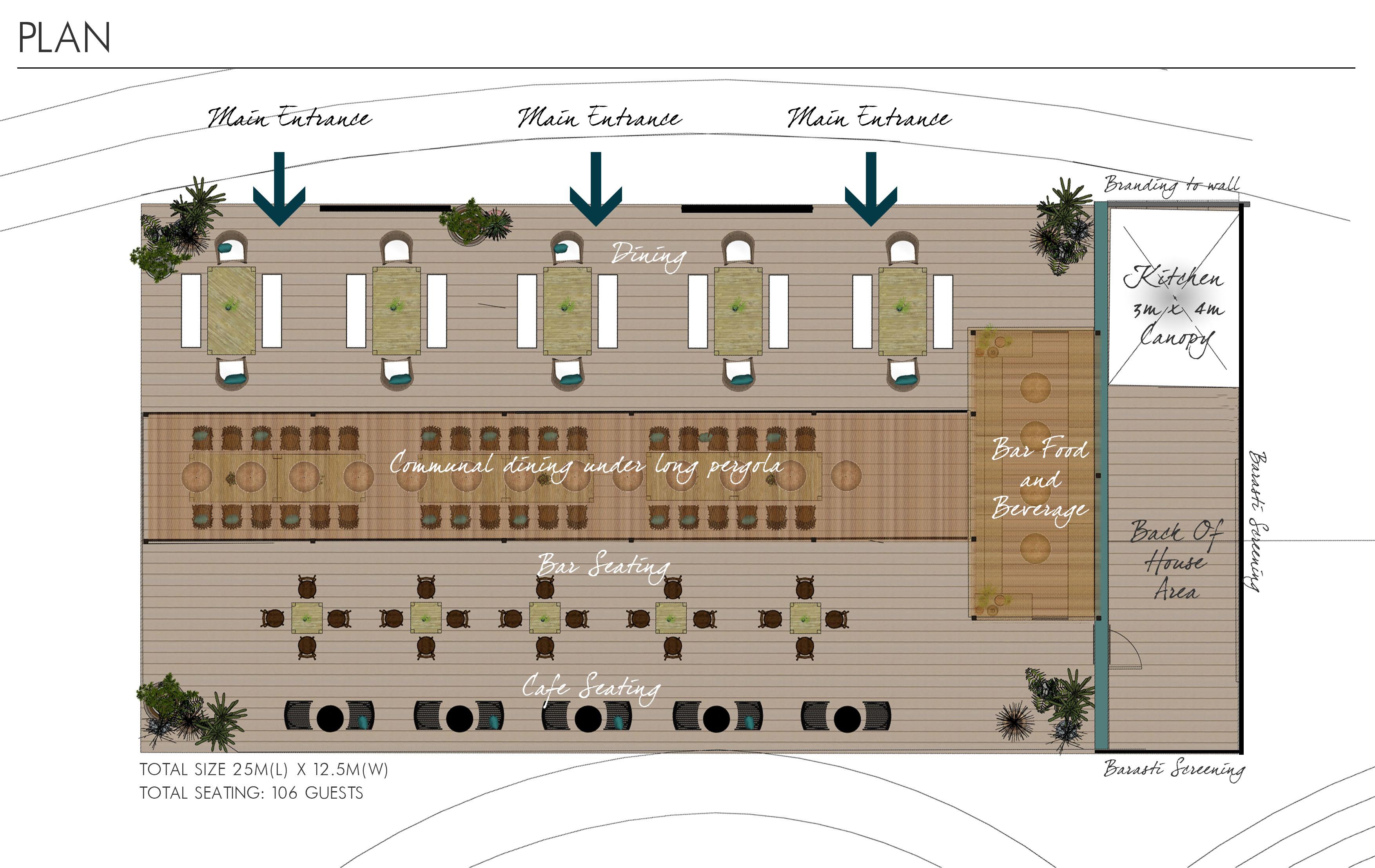 Event Design - Plan View